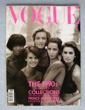 Vogue Magazine - 1990 - January